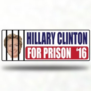 hillary clinton for prison