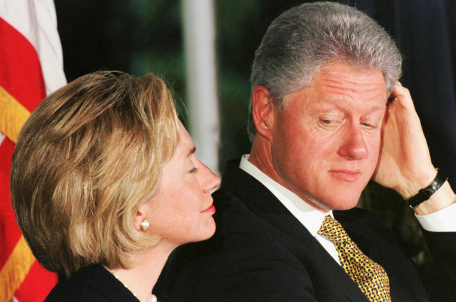 bill and hillary cursing