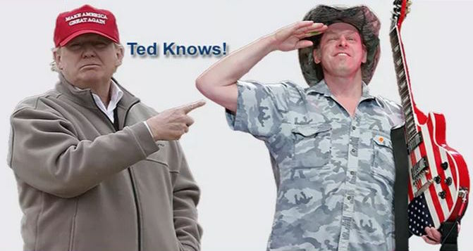 donald trump ted nugent