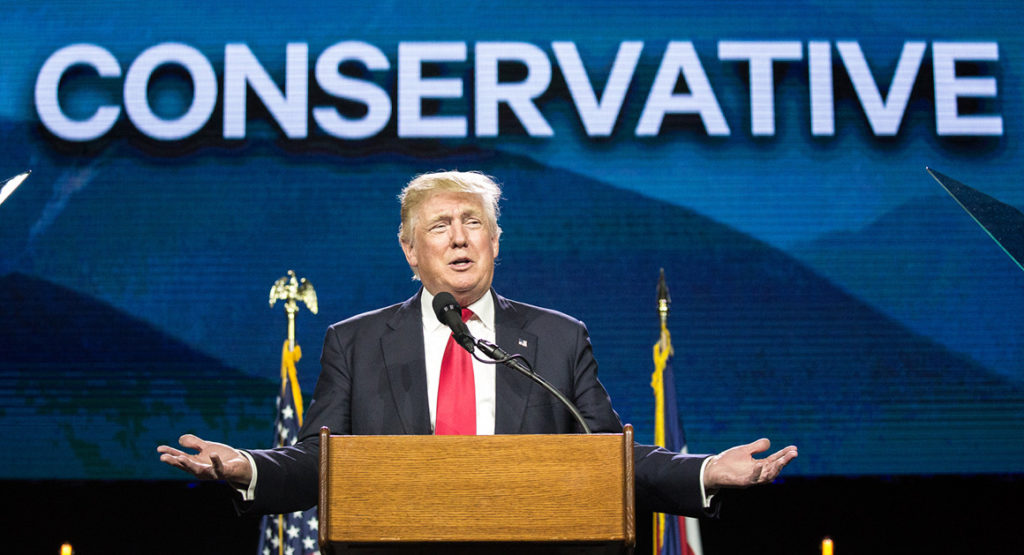 donald trump western conservative summit
