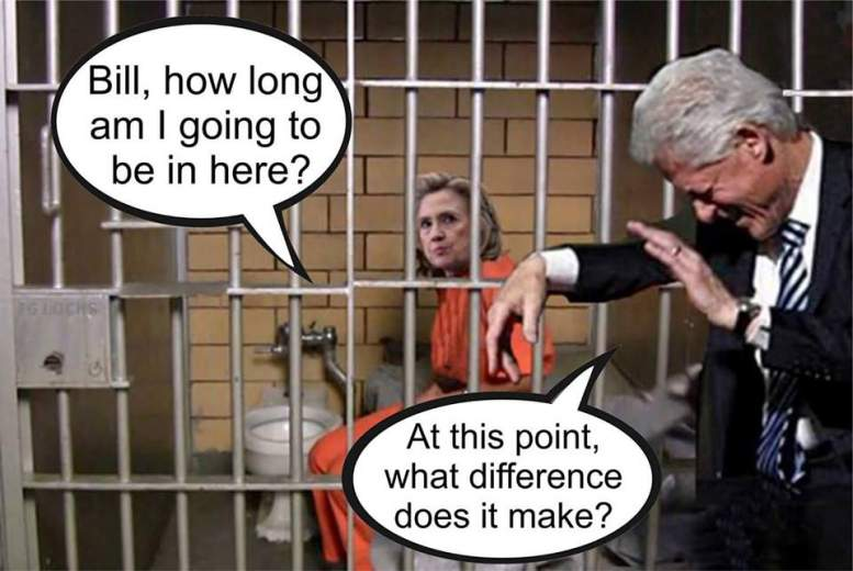 hillary clinton jail what difference does it make