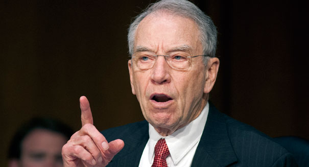 senator chuck grassley issues demand to fbi