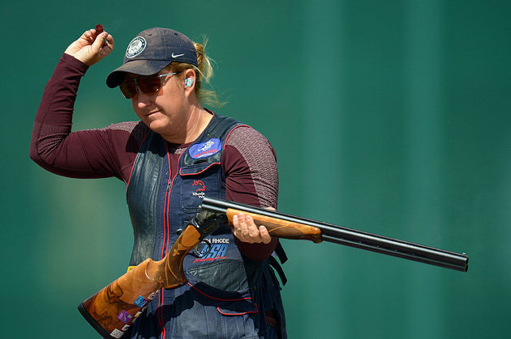 American Shooter Speaks on Gun Control Kim Rhode