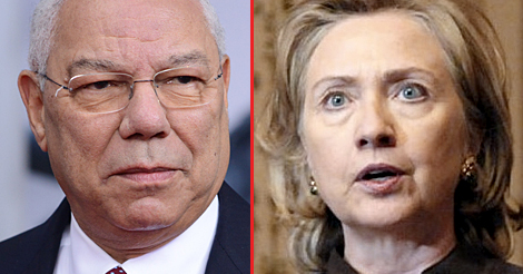 Hillary Tried to Blame Email Scandal On Colin Powell