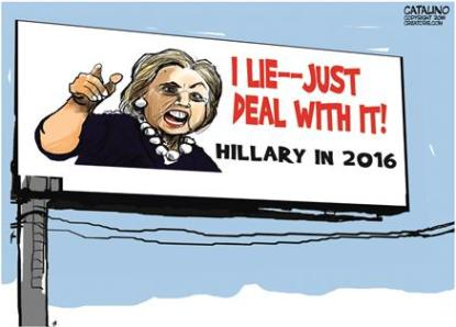 Hillary made false statements about her email during her testimony to Congress in 2015
