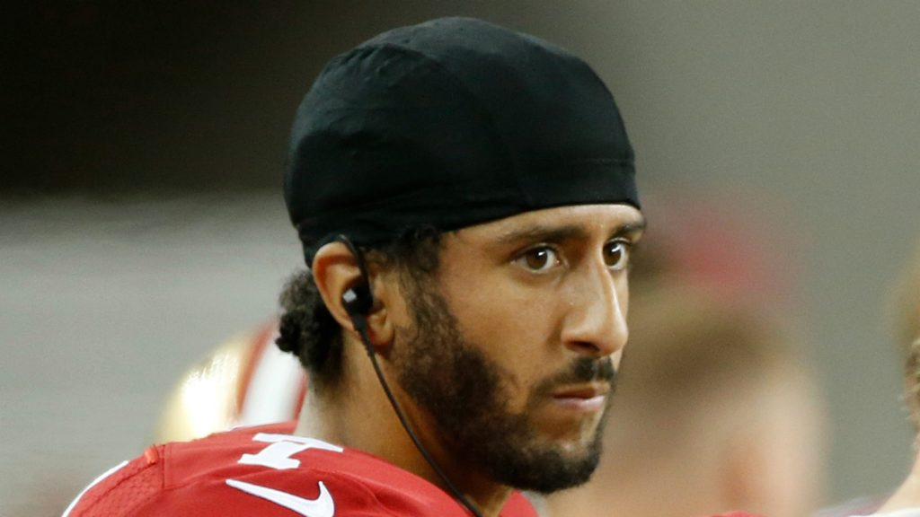 Kaepernick Refuses to Stand For National Anthem