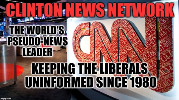 cnn trash trump louisiana donations clinton news network
