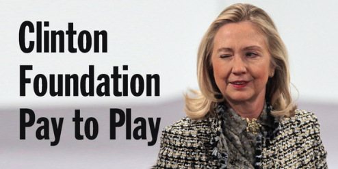 hillary pay to play scandal
