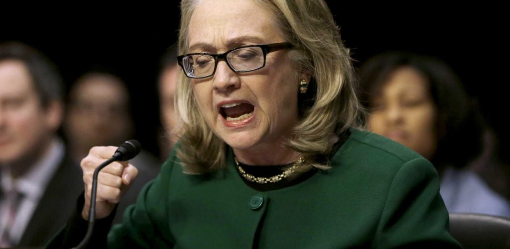 hillary lied under oath about arming isis