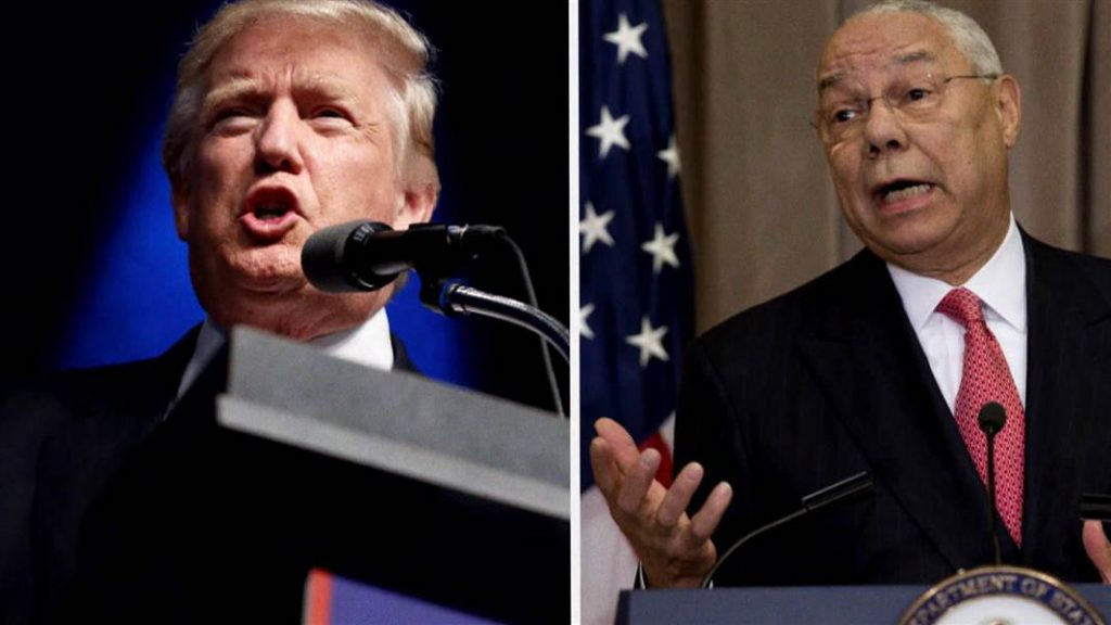 Colin Powell Calls Trump National Disgrace In Hacked Email