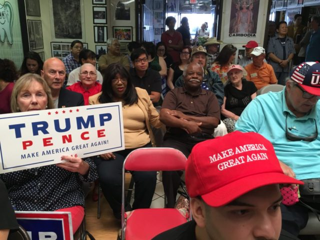 Diversity of Trump Volunteers Is Stunning