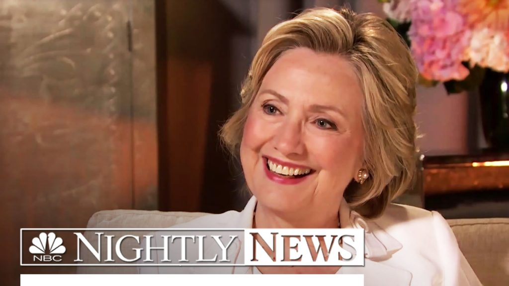 Nightly News Reports Hillary Clinton's Death
