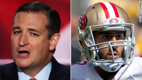 Ted Cruz Calls for Boycott of 'Rich Spoiled Athletes'