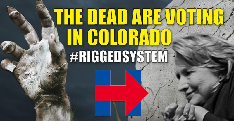 The Dead Are Voting in Colorado