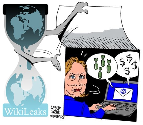 WikiLeaks Releasing 100,000 Clinton Documents