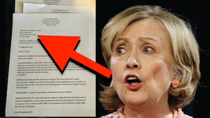 this leaked document will take hillary down