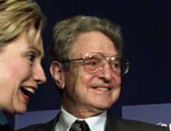 hillary clinton and george soros clinton foundation dominion voting