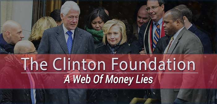 Clinton Foundation Donations Drop
