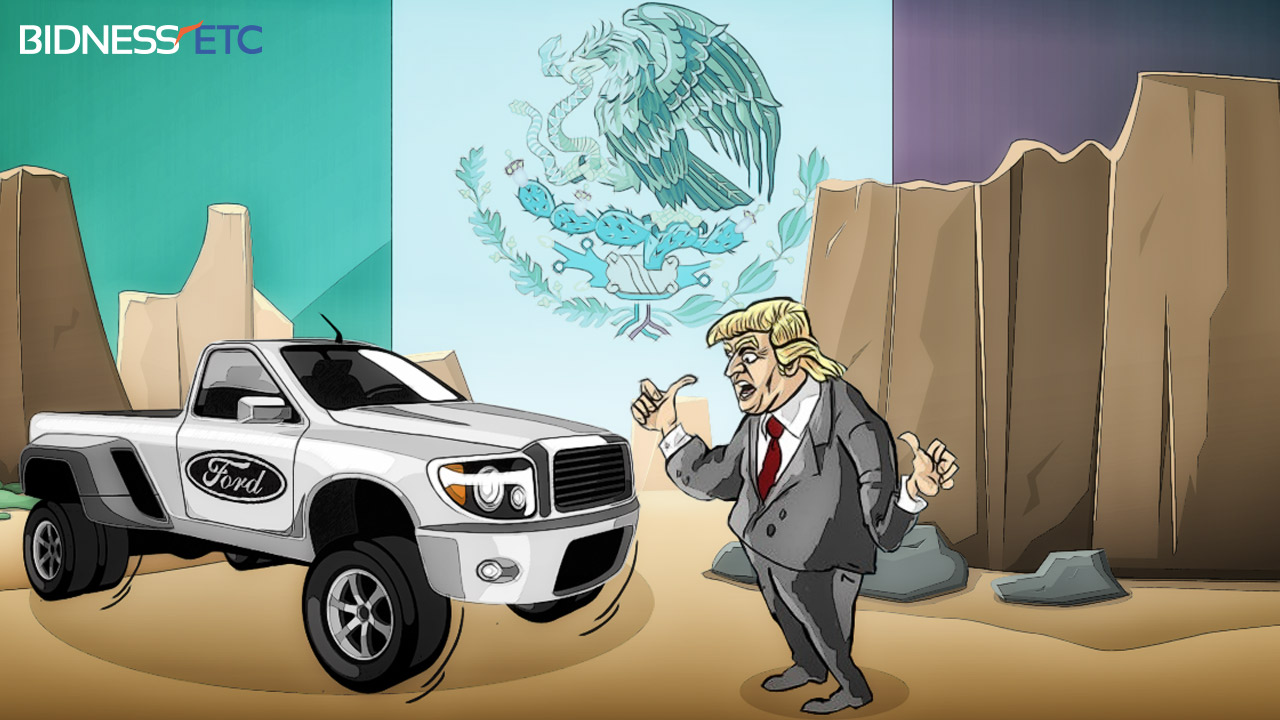 Ford Called Trump