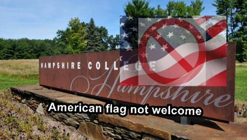 Hampshire College Stops Flying American Flags
