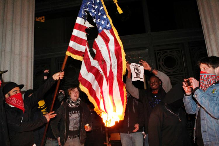 Trump Proposes Harsh Penalties for Burning the American Flag