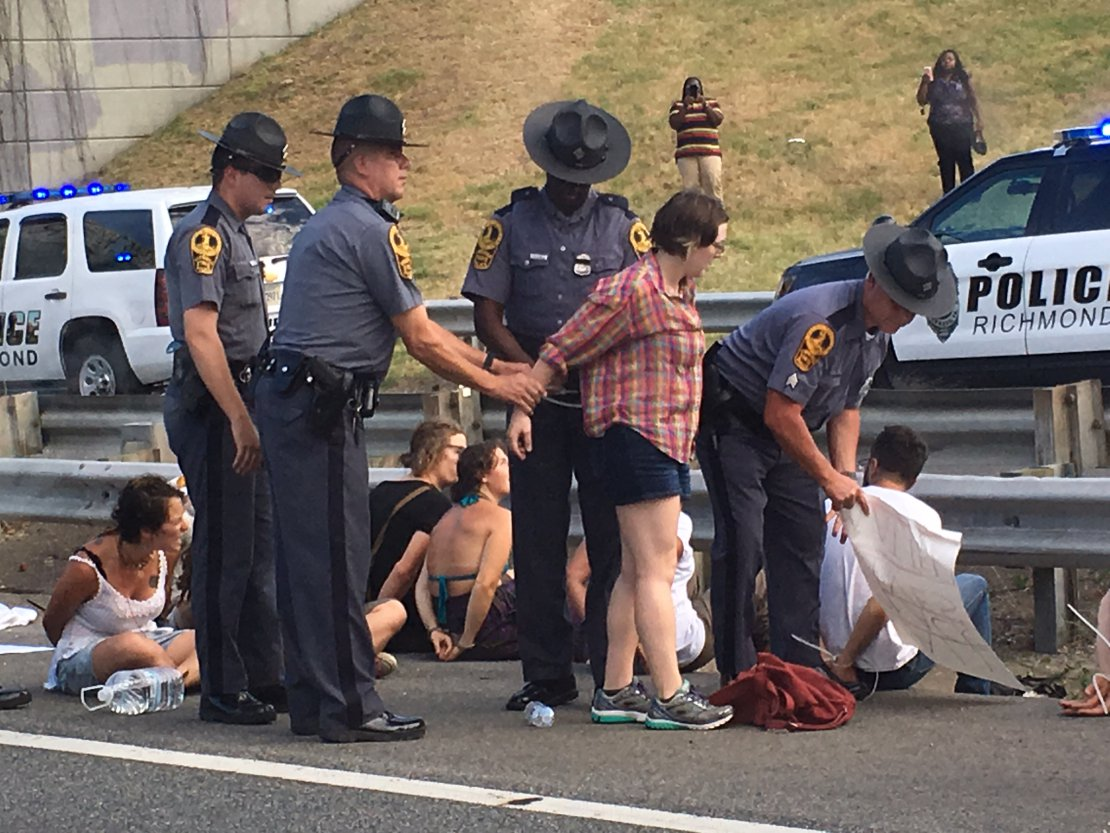 BLM Protesters Jailed for Blocking Highway