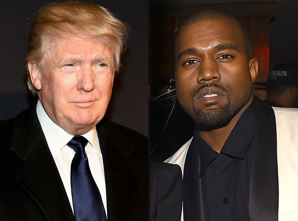 kanye west supports trump