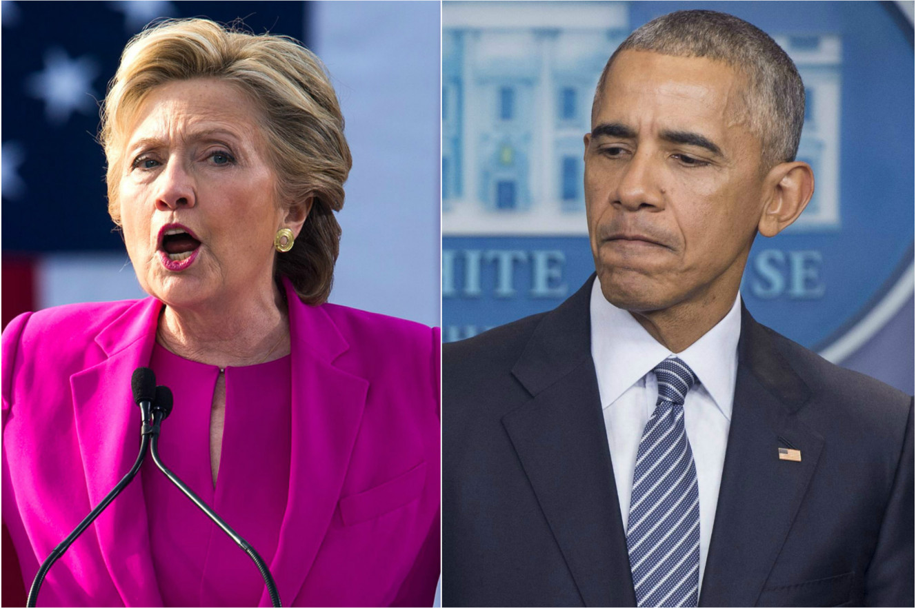 Obama Urged Hillary to Concede on Election Night