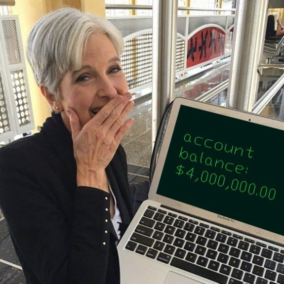 Jill Stein's Recount Efforts Run Into a Massive Roadblock
