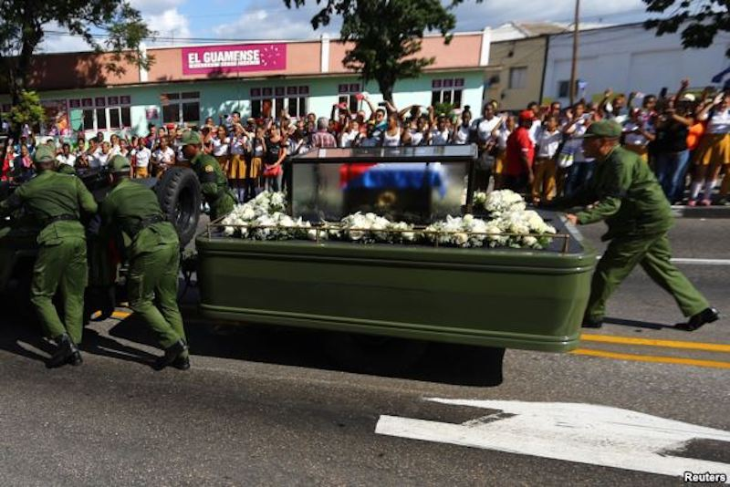 Jeep Carrying Fidel Castro's Ashes Breaks Down