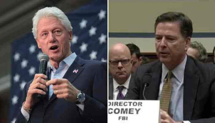 Bill Clinton Blames the Election Loss on James Comey