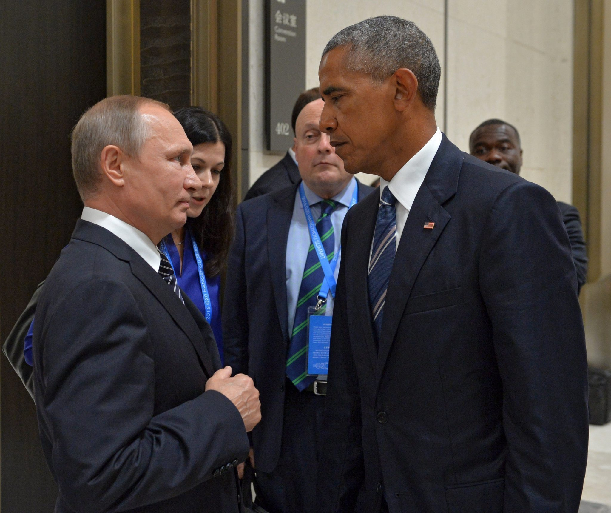 Obama Claims He Confronted Putin
