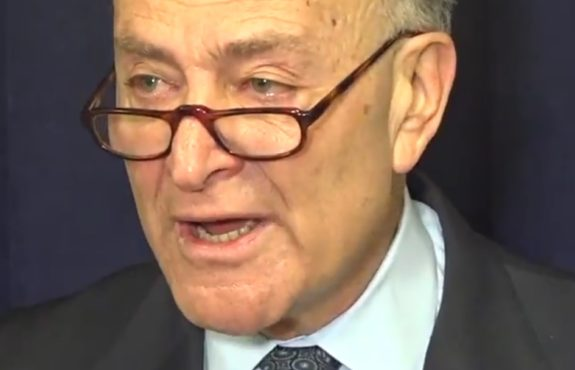 Chuck Schumer in 2015 - Refugee Pause May be Necessary, syrian refugees pause, paris attacks
