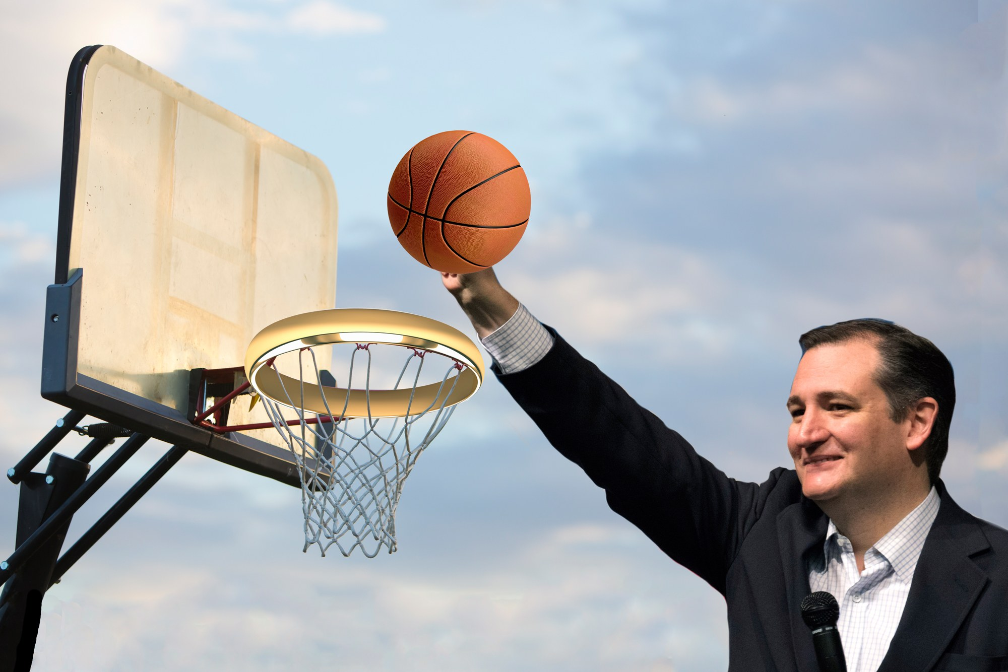 ted cruz, ted cruz basketball