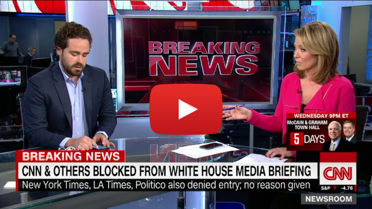 BREAKING: CNN is Devastated After Being Blocked From Attending White House Presser - VIDEO