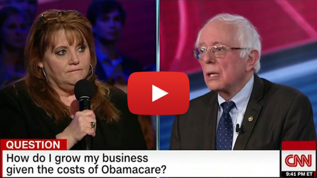 Bernie Sanders Unable to Answer a Business Question
