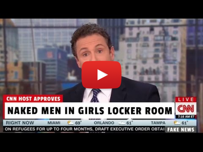 CNN Host Chris Cuomo, 12-Year-Old Girls Uncomfortable Seeing a Penis are Intolerant