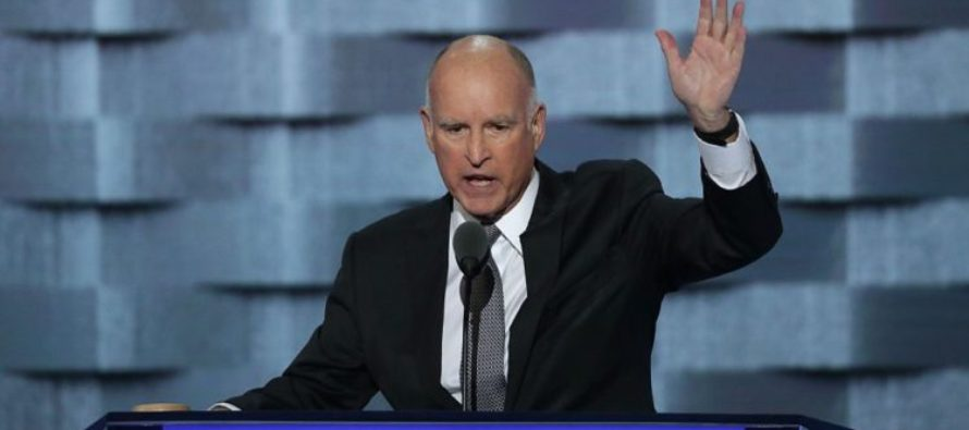 California Governor Asks Trump for Help, Jerry Brown