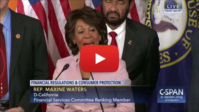 Left Wing Extremist Maxine Waters. a bunch of scumbags