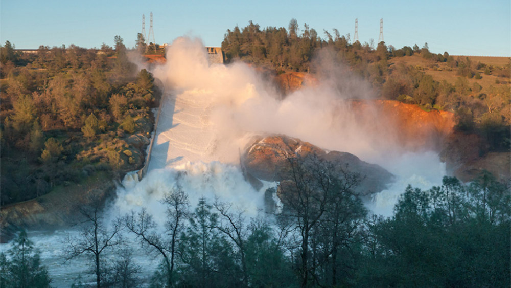 California Governor Spends $25 Billion a Year on Illegals, Oroville Dam