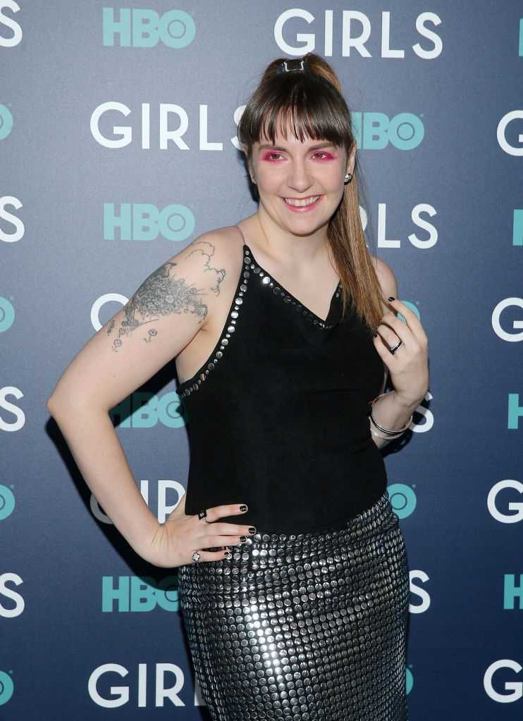 Lena Dunham is Skinny Because of Trump, howard stern, democratic national convention