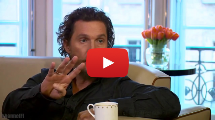 Matthew McConaughey on Trump, hollywood liberals, anti-trump