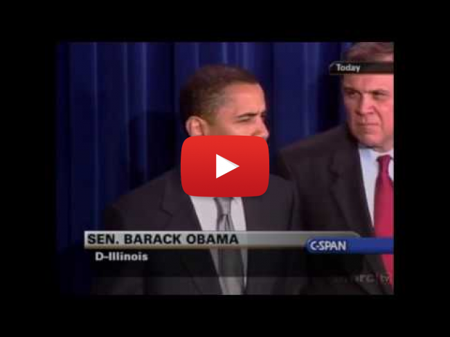 obama on immigration in 2005, #muslimban, secure borders, illegals, #TBT