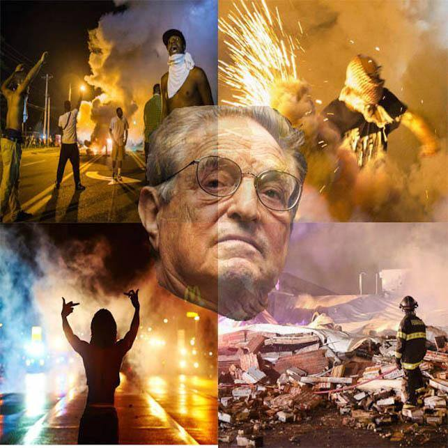 Democrat Donor George Soros was Behind the UC Berkeley Riots, black lives matter, blm protests