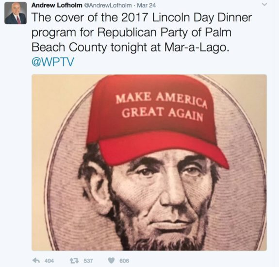 Chelsea Clinton Idiot, Abraham Lincoln, Make America Great Again Hat