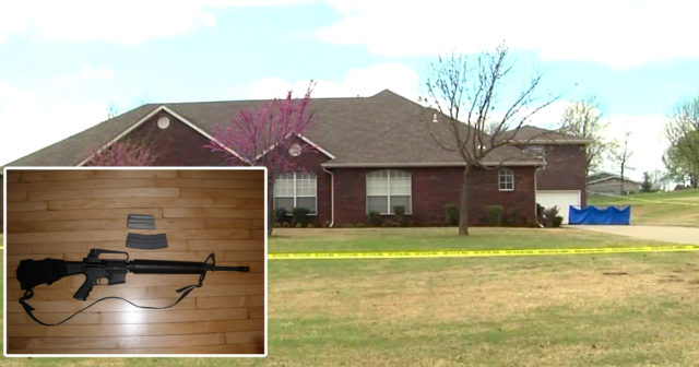 Homeowner's Son Kills 3 Invaders with AR-15