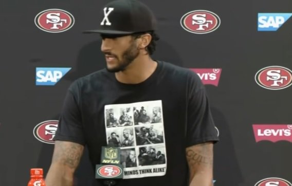 Free Agent Colin Kaepernick Not Likely to Be Signed, Fidel Castro