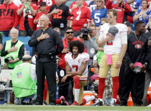 Free Agent Colin Kaepernick, kneeling, Genuinely hate him