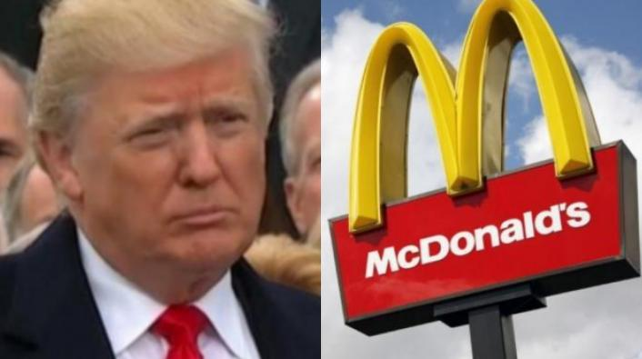McDonald's Rips Trump on Twitter, Tiny Hands