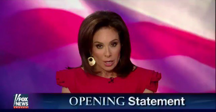 Judge Pirro Rips Liberals